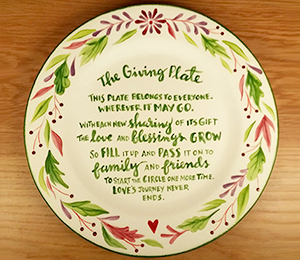 Norman The Giving Plate