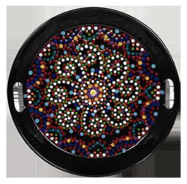 Norman Mosaic Mandala Tray