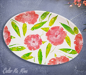Norman Floral Paper Stamping
